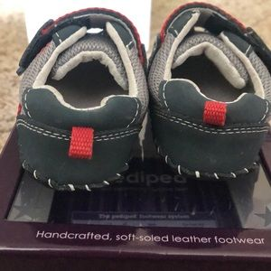pediped Shoes - Navy, gray, red Pediped shoes